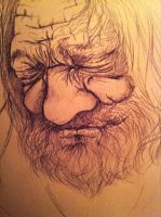 Old man by Mnoiman