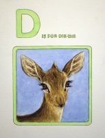 D is for Dik Dik by JessicaEdwards