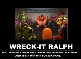 Wreck-it Ralph Demotivational Poster by thekirbykrisis