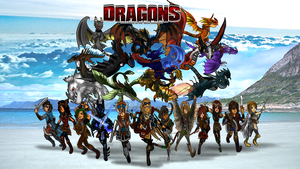 Dreamworks Dragons OCs Gigantic Poster 1 by TotecTripled
