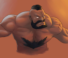 Zangief by Callilf