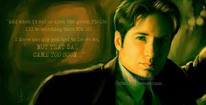 Mulder - FOX by CelticBotan