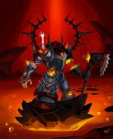 Infuscoartus : Jegardiel The Demisemonger by crypt-lord