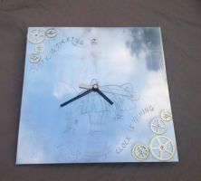 MLP FiM: 'Want It Need It' Twilight wall clock by vulpinedesigns