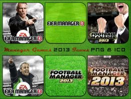 Manager Games 2013 Icons by Kalca
