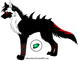 Breedable Male- Darkael by ZerosAdopts