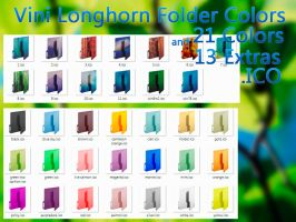 Vini Longhorn Folder Colors by Vinis13
