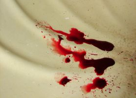 Blood Dripped into a Sink by FantasyStock
