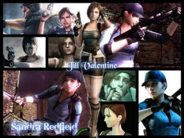 Jill Valentine Wallpaper by SandraRedfield