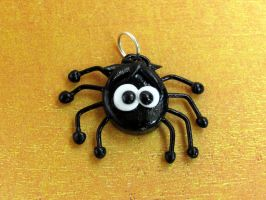 Cute Spider Charm by DragonsAndBeasties