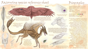Razorwing species reference (temp) by Sezaii