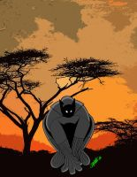 Black Panther by J.J Carmona by MARR-PHEOS