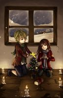 simple pleasure_xmas by sniftpiglet