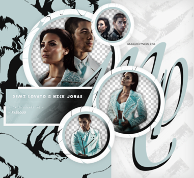 PACK PNG 621 | DEMI LOVATO AND NICK JONAS. by MAGIC-PNGS