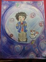 Hiro and Baymax- Bubble Adventure by MirabelleLeaf31