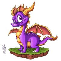 Spyro: A New Beginning III by SyndroTheDragon