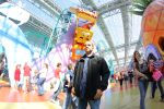 Posing at Nickelodeon Universe by ccmm