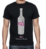 Wine Time T-Shirt by gkorin
