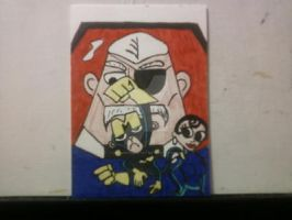 DIAL M FOR MONKEY by shawncomicart