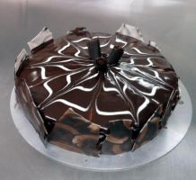 Chocolaty chocolate cake by Lammas