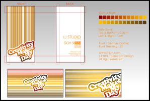 LJ STUDIO - name card design by LJ-JUN