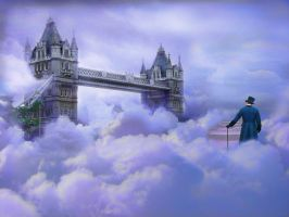 A Walk in the Clouds by megaossa