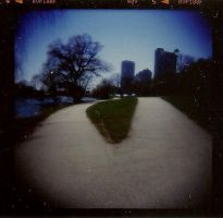 Two Paths by Lomo440