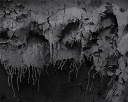 Peeling Dripping Paint Mono by cazcastalla