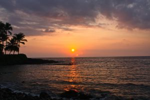 Kona Sunset by StephCarmel
