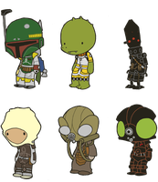 Lil' Bounty Hunters by toadcroaker