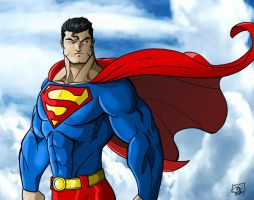 The Man of Steel by Kenpudiosaki
