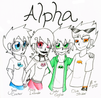 Alpha by queenofdavekat