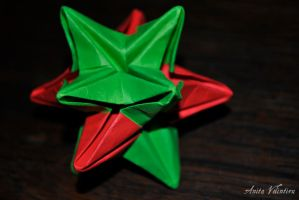 Origami star by Rouge07