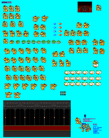 MLSS New Bowser Sprite Sheet by Chrispriter89