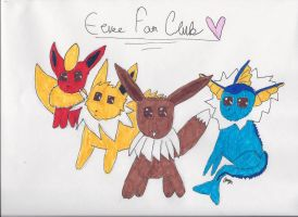 Eevee fan club contest entry by KittyCatChey
