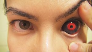 Tokyo Ghoul Sclera Contact Lens by KisaMake