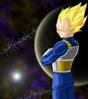 Vegeta from Dragonball by RobyG