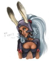 Fran sketch - FFXII by lady-mildred