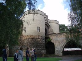 Nottingham castle by Tracy0