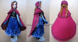 Frozen Anna costume by kara023