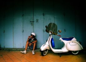 Vespa by aNdicTed