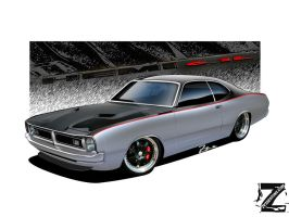Dodge Demon 71 V3 by zvtdesigns