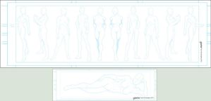 Character Templates 8 Female by stourangeau