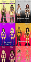 MyWWE: Women's Tag Division by TerenceTheTerrible