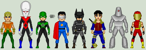 Justice League Re-Imagined by EverydayBattman