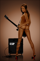 Guitar Goddess by Chipman1911