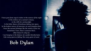 Bob Dylan Mirror Wallpaper by Stefaveli