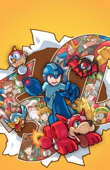 Mega Man 50 Cover by edwinhuang