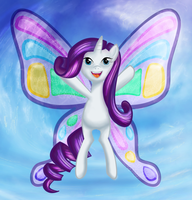 Gossamer and Morning Dew: Rarity with Wings by Eumy