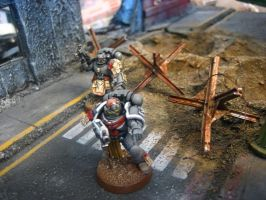 Tactical Space Marine Alt View by aaronprovost